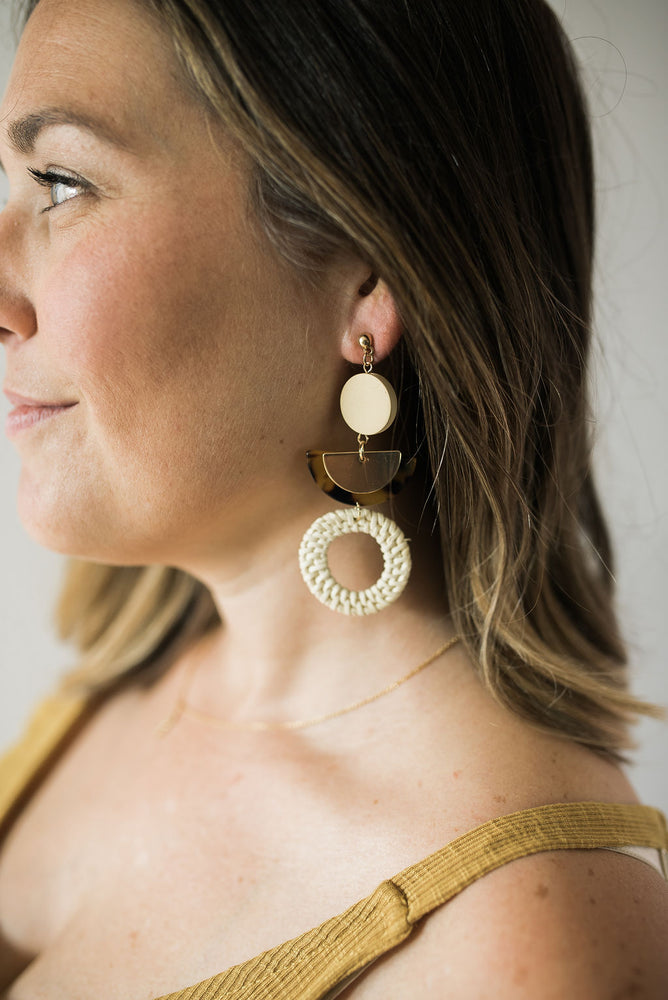 Woven Statement Earrings