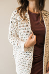 Multi-color Textured Cardigan - Sweetly Striped