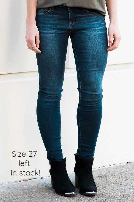 'Mya' Skinny Jeans - Sweetly Striped