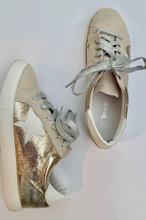 Star Fashion Sneakers - Sweetly Striped
