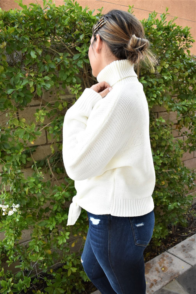 Cozy Times Ivory Sweater - Sweetly Striped
