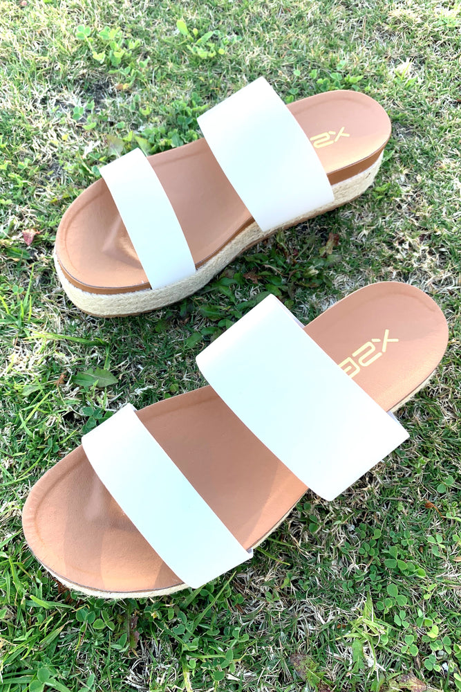 Sunny Days Double Strap Espadrille