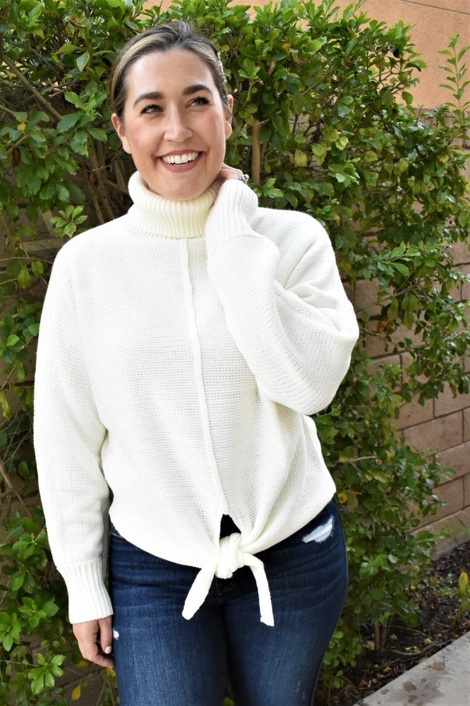 Cozy Times Ivory Sweater