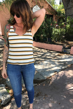Hippie Chick Striped Tank