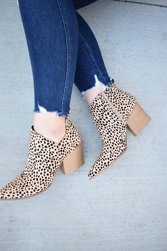 Leopard Booties - Sweetly Striped