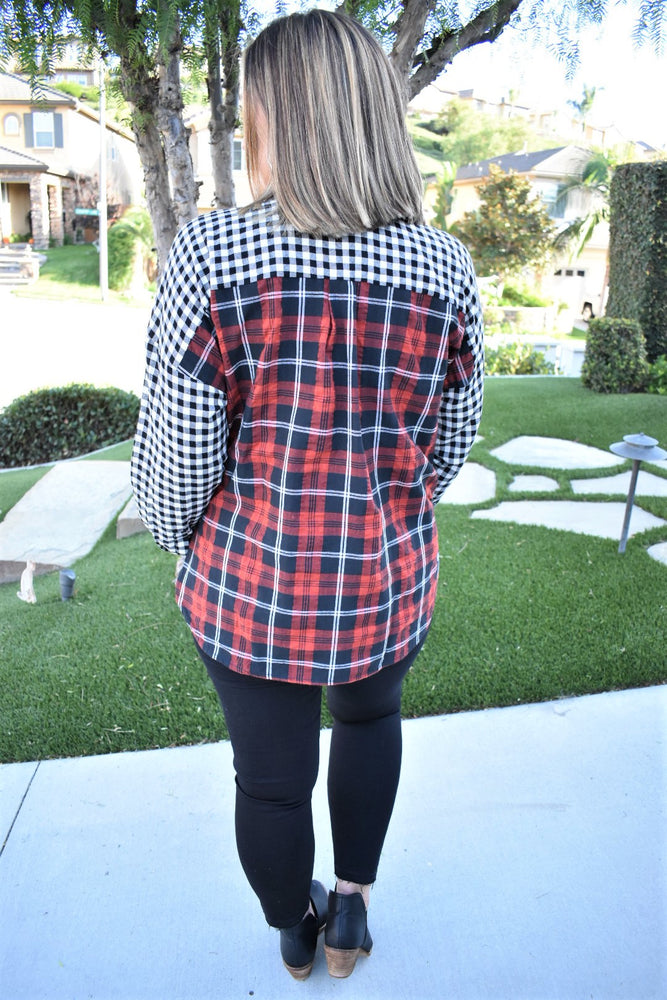 Cabin Fever Plaid Shirt - Sweetly Striped
