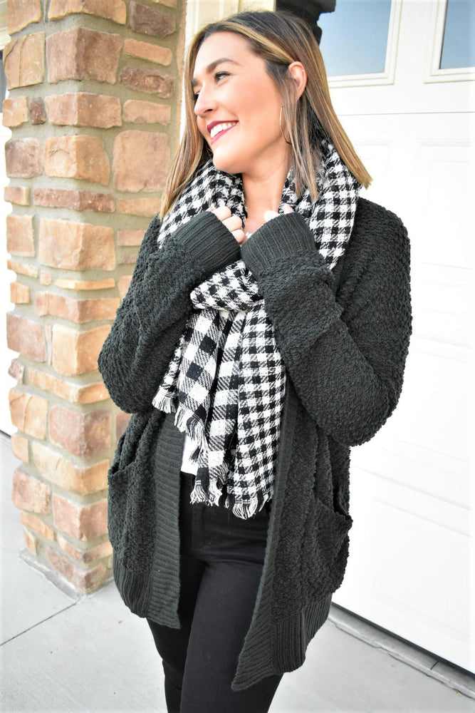 Buffalo Check Scarf - Sweetly Striped