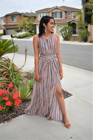 Summertime Grecian Goddess Dress
