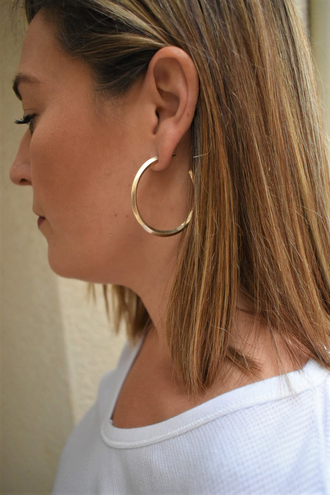 Modern Woman Hoops - Gold