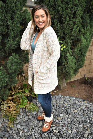 All Dolled Up Cardigan - Sweetly Striped