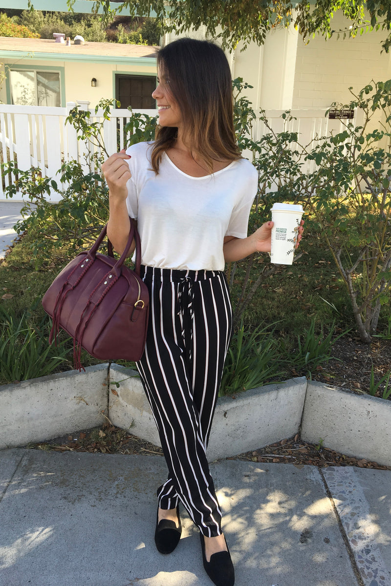 Striped Pants - Sweetly Striped