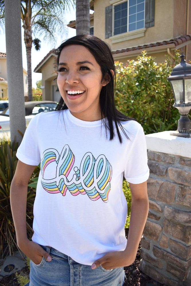 Let's CHILL Graphic Tee