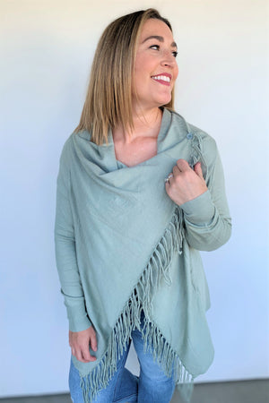 Fringe Detailed Cardigan
