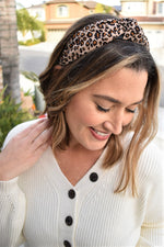 Leopard Headband - Sweetly Striped