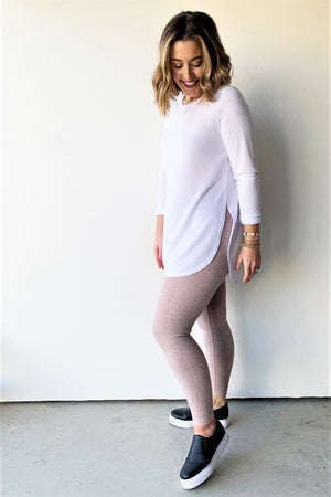 Back to Basics Seamless Leggings - Sweetly Striped