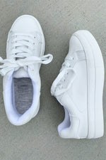 Everyday White Fashion Sneakers
