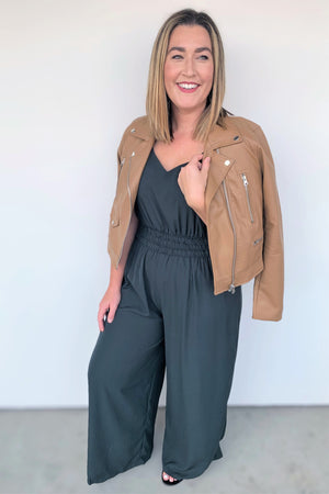 Feeling Fabulous Green Jumpsuit