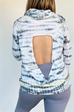 Tie-Dye Hoodie Sweatshirt - Sweetly Striped