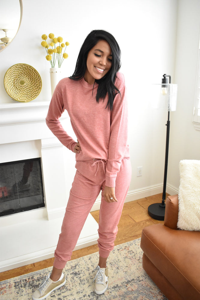 Soft Rosy Sweatshirt