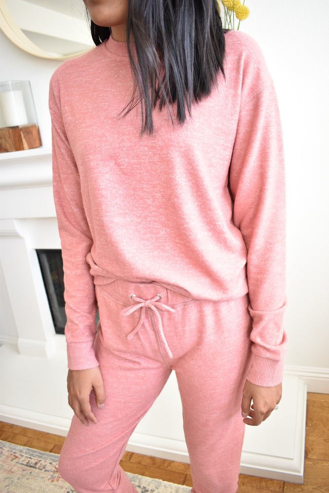 Soft Rosy Sweatshirt - Sweetly Striped