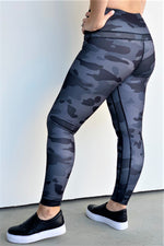 Not Your Average Camo Print Leggings - Sweetly Striped