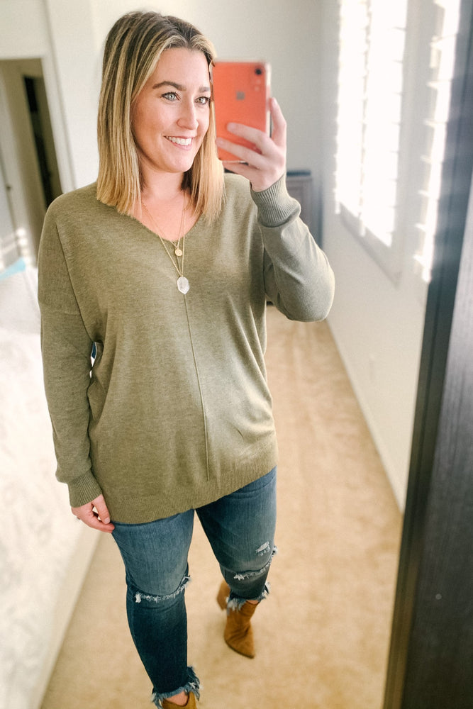 Laid Back Sweater Top