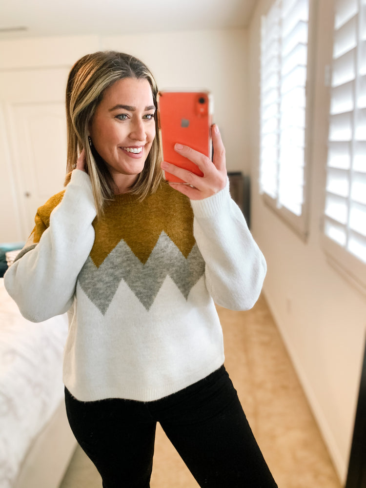 Throw Back Cozy Sweater