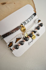 Stackable Bracelet Trio - Sweetly Striped