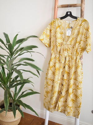 Tropical Vibes Midi Dress