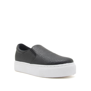 Snakeskin Slip-On Sneaker - Sweetly Striped