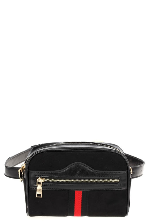 Striped City Belt Bag - Sweetly Striped