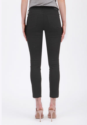 'Dunlop' Crop Skinny Jeans - Sweetly Striped