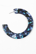 Dark Blue Thick Hoop