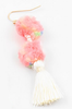 Mini Pom Pom Tassel Earrings