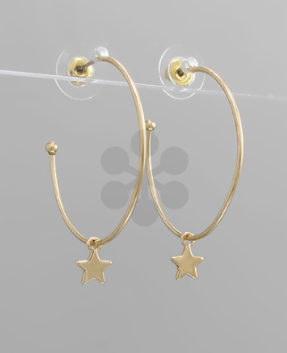 Star Open Hoops