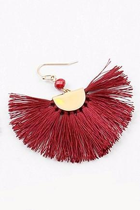 Modern Tassel Earrings - Sweetly Striped