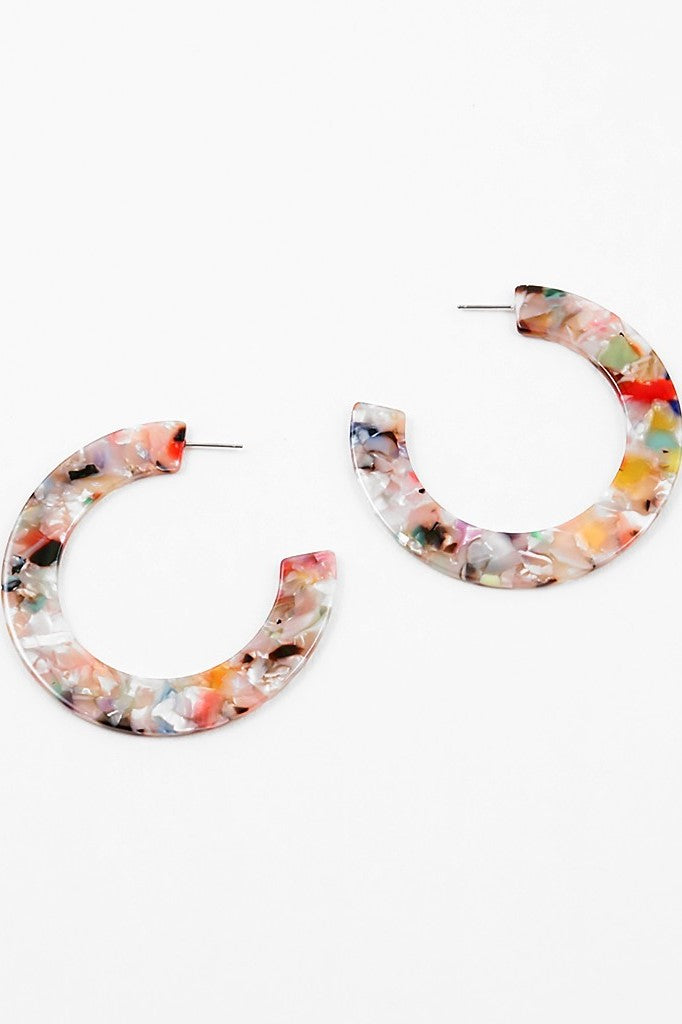 Multi-Color Thick Hoop - Sweetly Striped