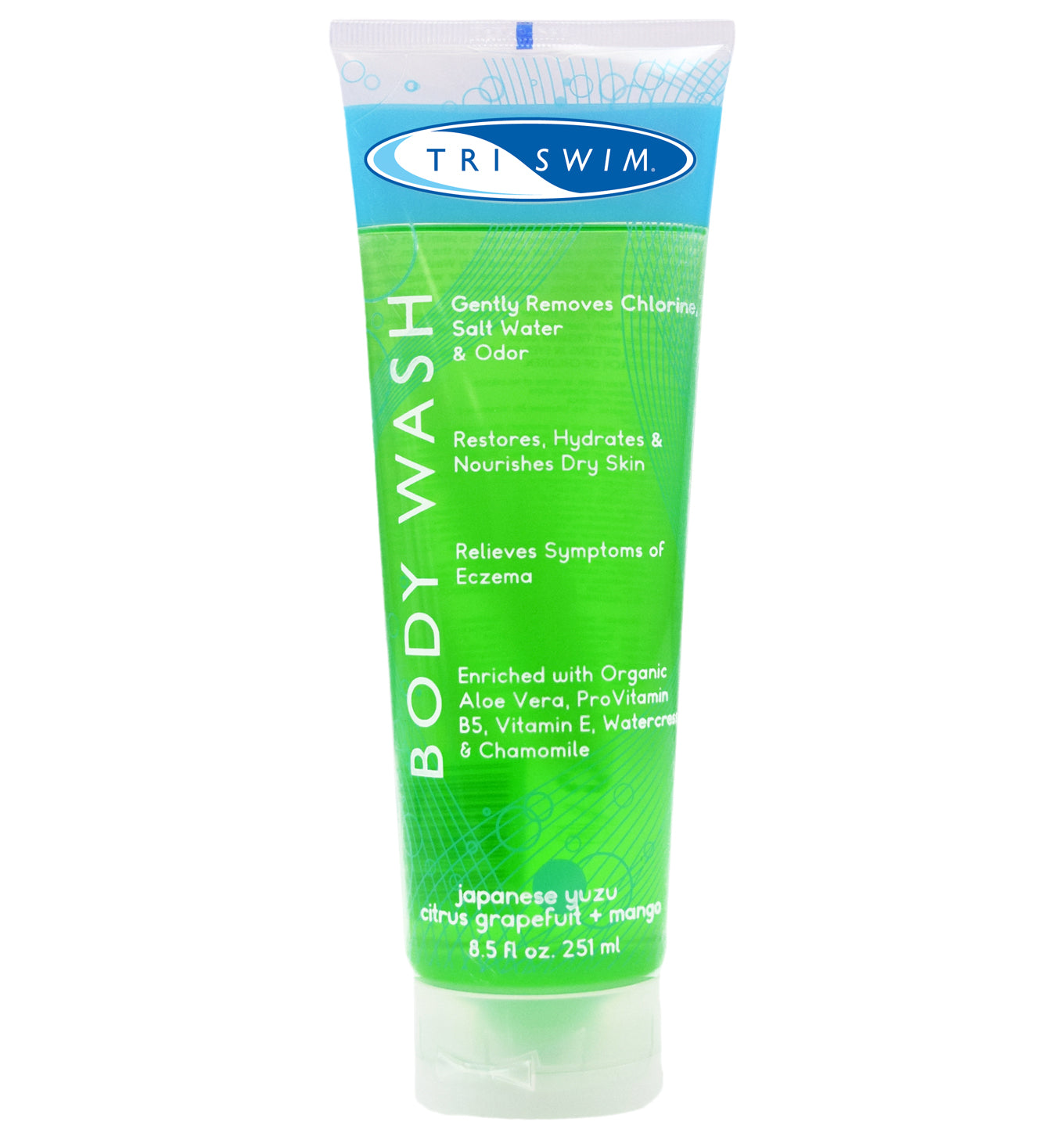 TRISWIM Body Wash 8.5 oz - Case of 12
