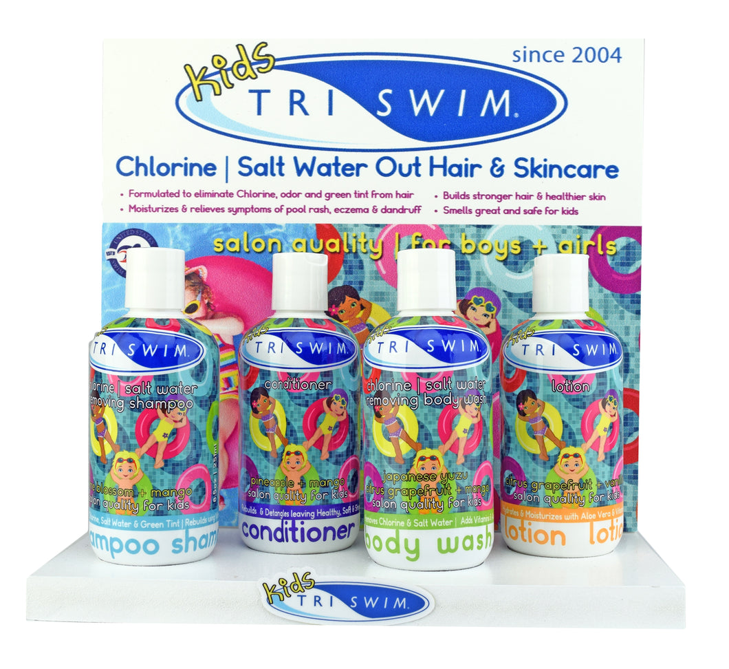TRISWIM Kids Counter/Wall Display