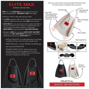 DMC ELITE MAX - Black