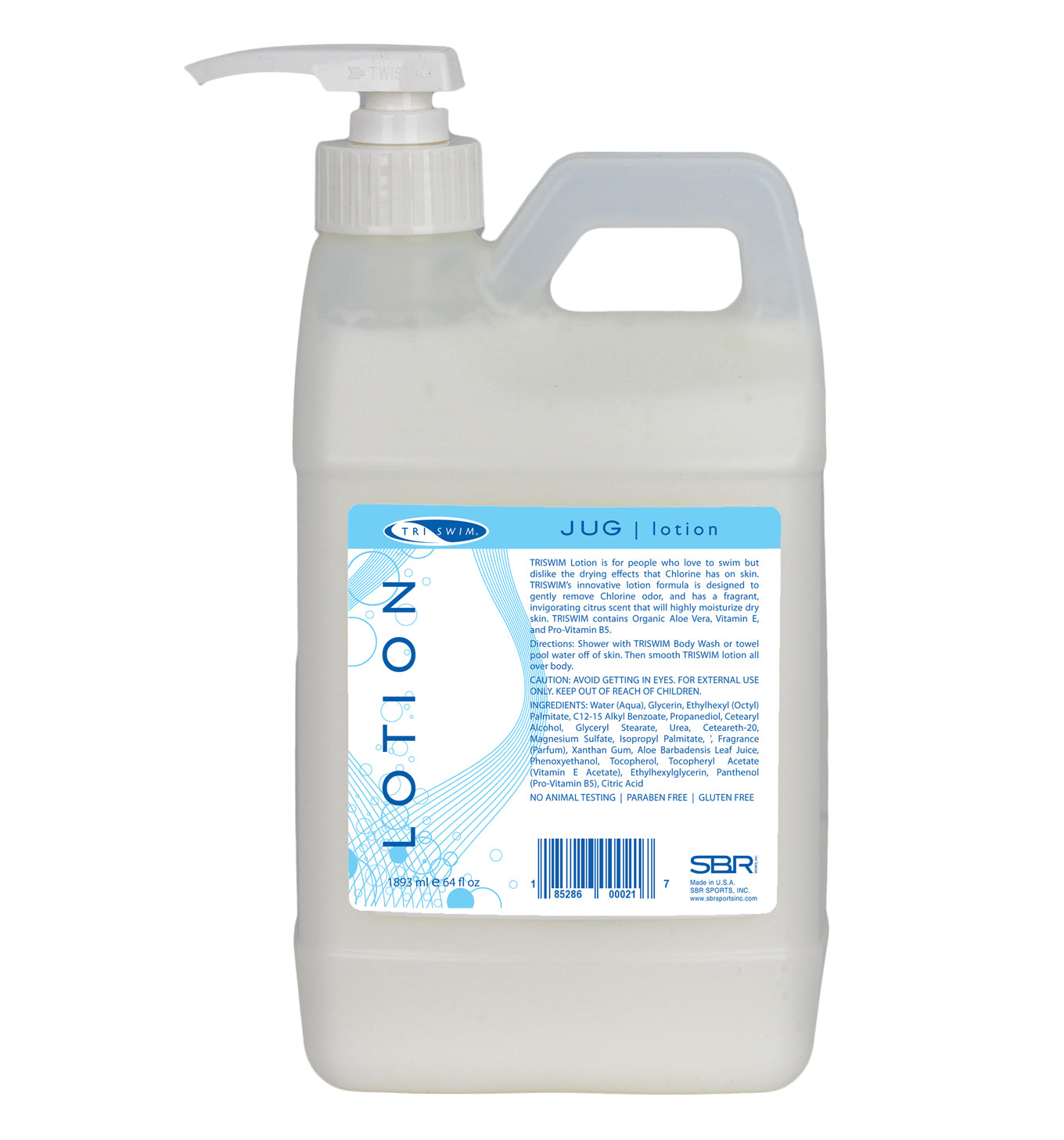 TRISWIM Lotion JUG 64 oz