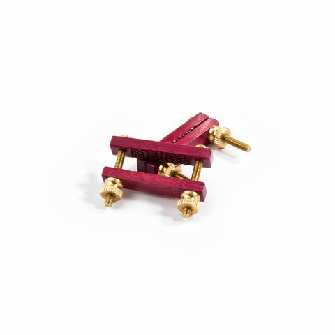 Nº 4100 - Nipple Clamps in Purpleheart