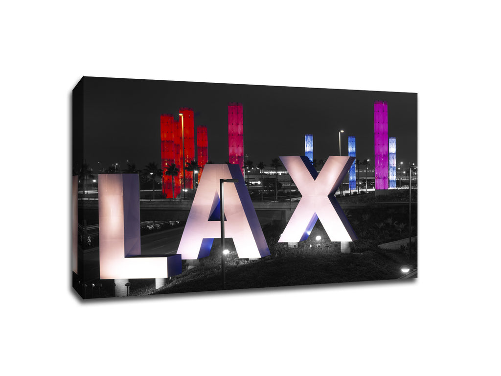 LAX Touch of Color Canvas