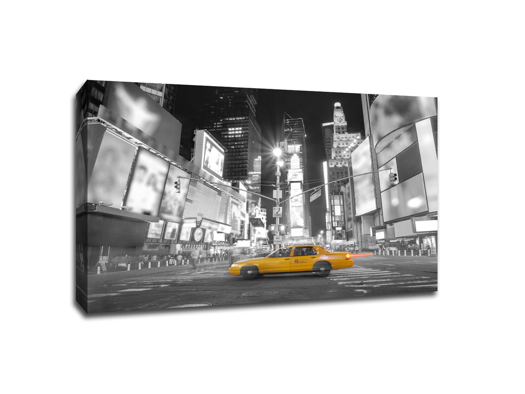 Times Square New York City Touch of Color Canvas