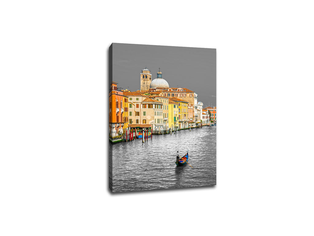 Venice Italy Touch of Color Canvas