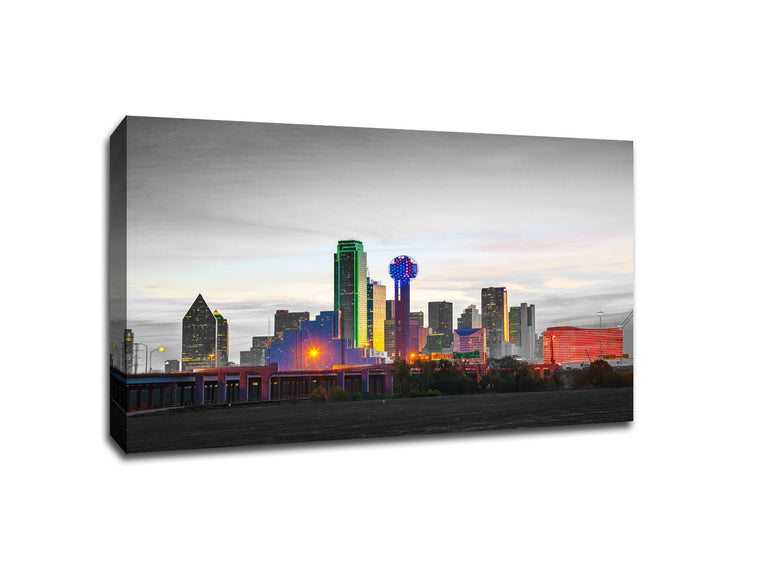 Dallas Touch of Color Skylines