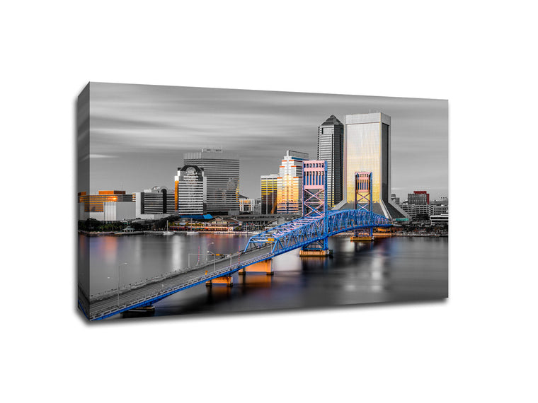 Jacksonville Touch of Color Skylines