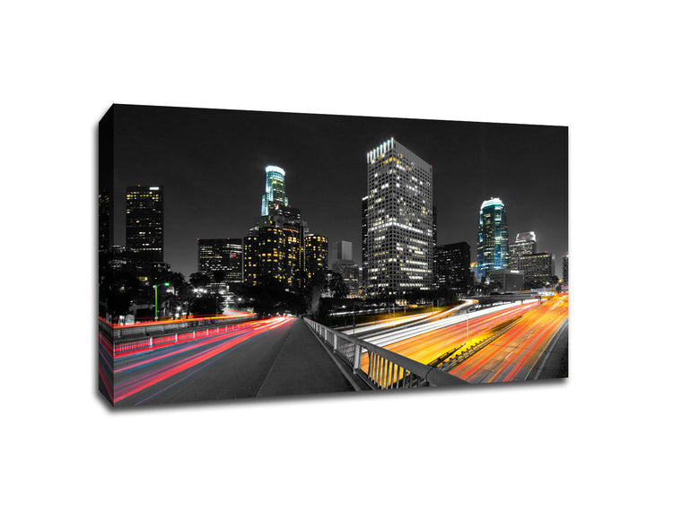 Los Angeles Touch of Color Skylines