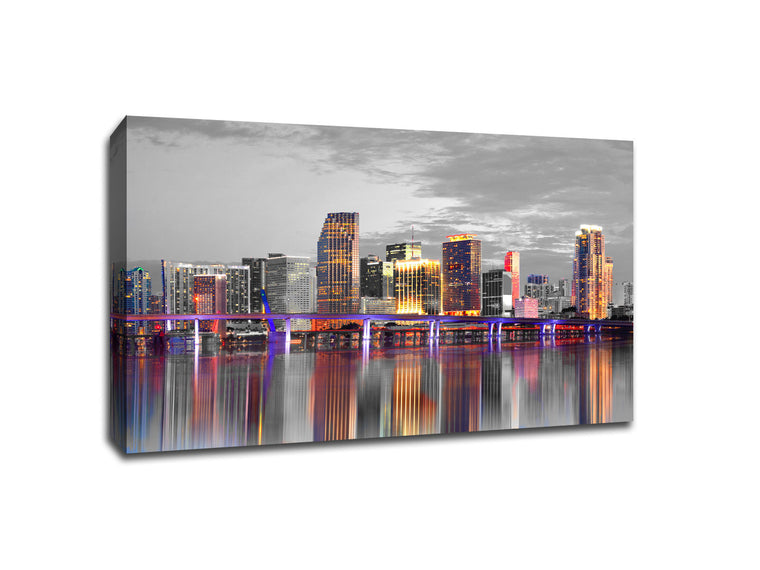 Miami Touch of Color Skylines