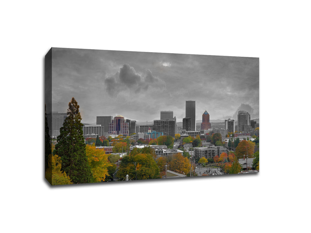 Portland Touch of Color Skylines